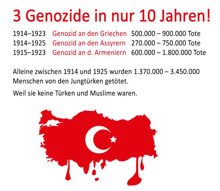 3 Genozide in nur 10 Jahren