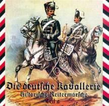 Reiter und Militärmarsche