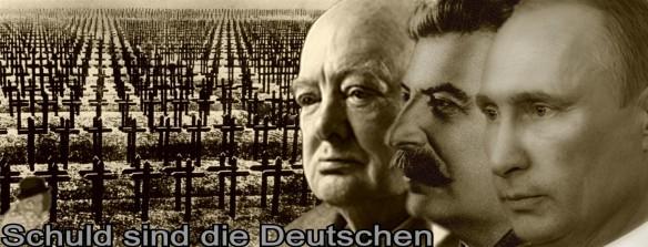 Schuld sind die Deutschen