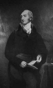 1807 veranlasste Canning als Außenminister die schamlose Expedition gegen das neutrale Dänemark, die mit der Zerstörung von Kopenhagen endete. In den zwanziger Jahren verschaffte er England die Handelsvormacht in Südamerika. - Gemälde von Thomas Lawrence.