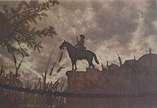 Der Reiter von Südwest Das schöne Denkmal ist das Wahrzeichen nicht nur Windhuks, sondern ganz Deutsch-Südwestafrikas. Es wurde nach den Aufständen der Hereros und Hottentotten (1904-1907) zur Erinnerung an die Gefallenen der Schutztruppe errichtet.