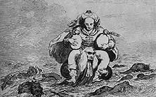 Die Justiz hilft dem Räuber, seine Beute in Sicherheit zu bringen Eine Karikatur des englischen Zeichners James Gillray auf den langsamen Gang des Prozesses, den einige Mitglieder des Unterhauses gegen Warren Hastings wegen seiner räuberischen Praktiken in Indien angestrengt hatten.