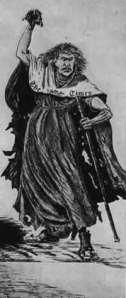 """Die Dreckschleuder So vornehm die """" Times"""", das Leibblatt des englischen Hofes, bisweilen tun kann, so hemmungslos toben sich dann wieder die Haßgefühle der britischen Plutokratie in ihren Spalten aus, wenn die Dividenden in Gefahr sind. Dieses treffende Bild von ihr zeichnete 1887 - der Engländer M. F. Morgan!"""