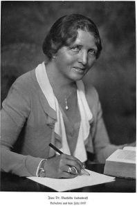 Mathilde Friederike Karoline Ludendorff   4. Oktober 1877 - 24. Juni 1966