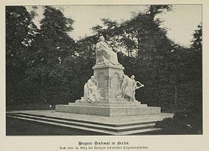 Wagner-Denkmal in Berlin