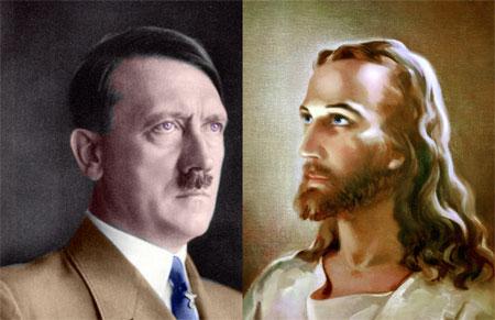 Adolf Hitler Jesus Christus