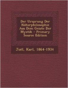 Der Ursprung der Naturphilosophie aus dem Geiste der Mystik