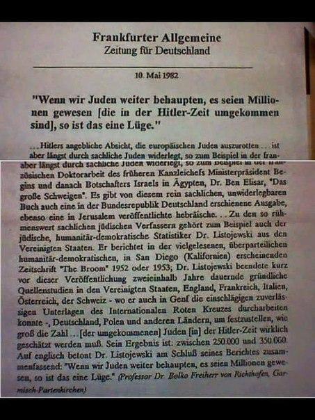 Frankfurter Allgemeine Zeitung für Deutschland 10. Mai 1982