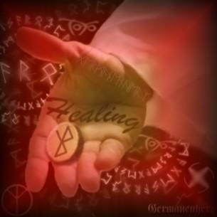 Germanenherz Healing Rune