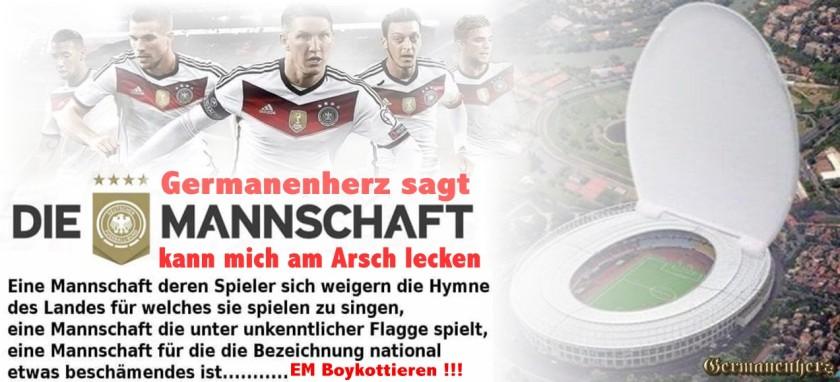Germanenherz Boykott EM