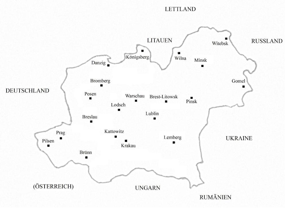 Polen Karte Umriss.Polen Und Die Falschungen Seiner Geschichte Germanenherz