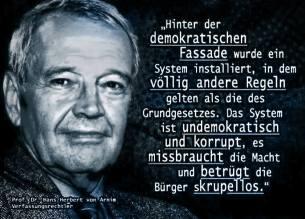 Prof Dr Hans Herbert von Arnim