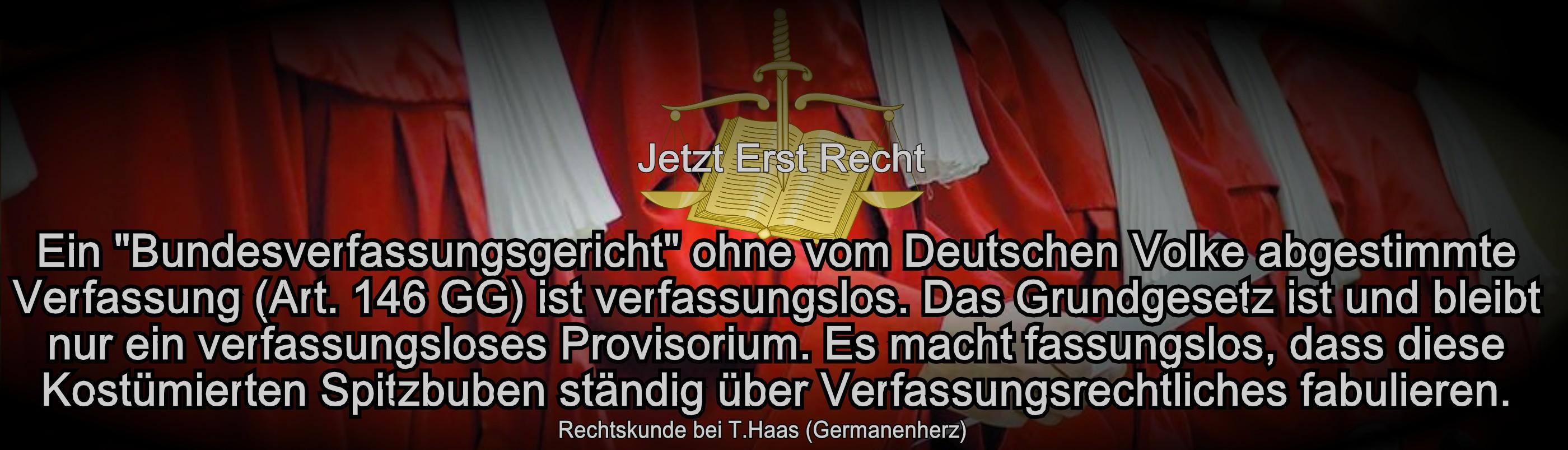 Der Spitzbuben Erlass und die Robe | Germanenherz